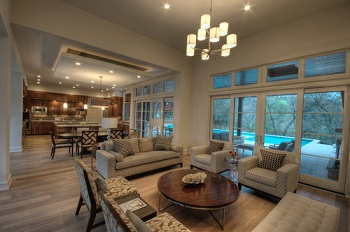 Open Concept Kitchen Living Room Designs (3)